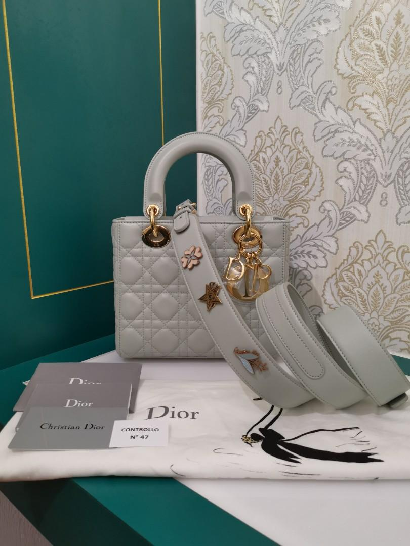 ❌Sold in a flash❌Brand New ABC Dior Lady Dior Small Pistachio Green Lamb with GHW