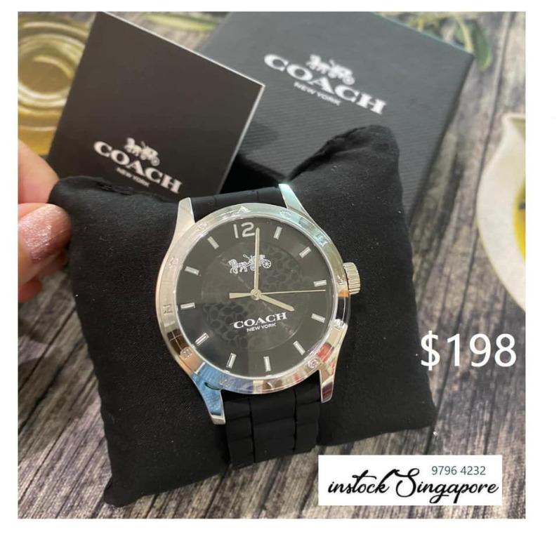 Brand New Authentic Instock Coach Watch