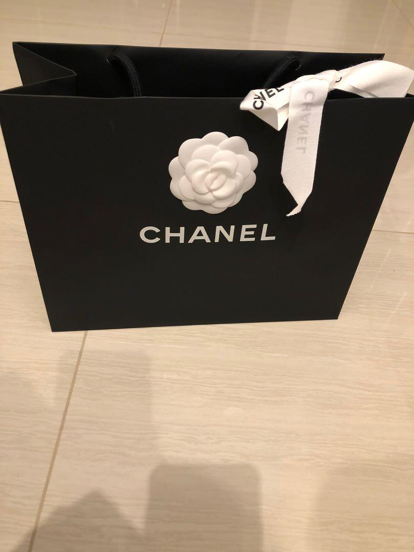 Brand new Chanel paper bag (measurement refer photos) 3 for 30 dollar