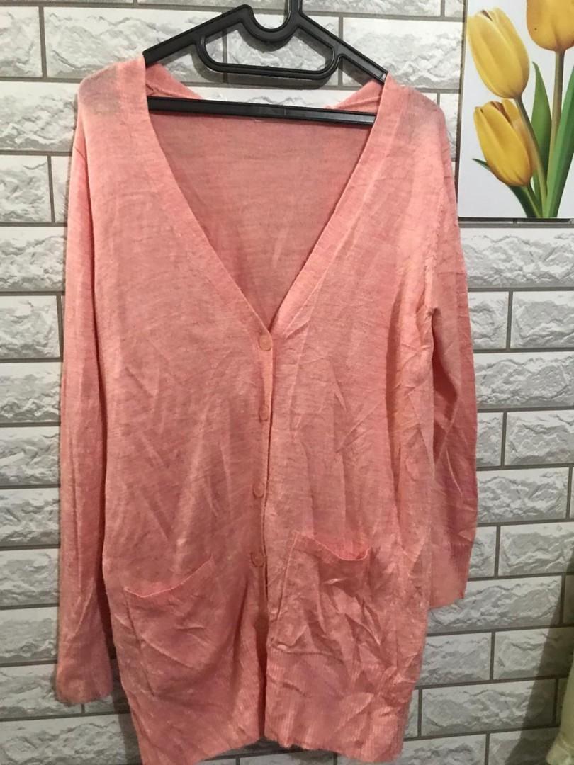 Cardigan soft  Pink