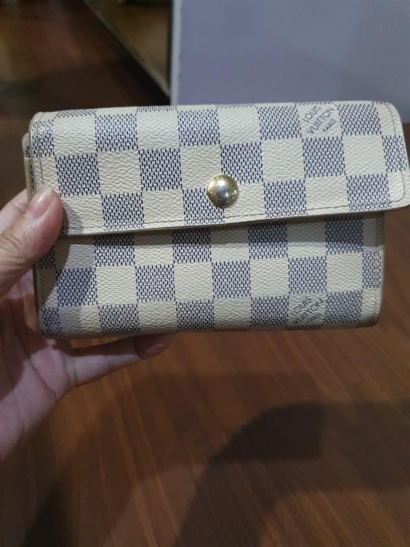 #carousell99 dompet LV azzure authentic