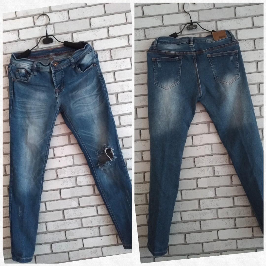 Celana Jeans Size 30 Original H&M untuk Wanita Skinny Stretch