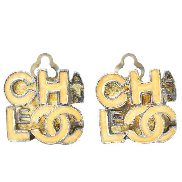 [保證真品]Chanel 香奈兒字母耳環