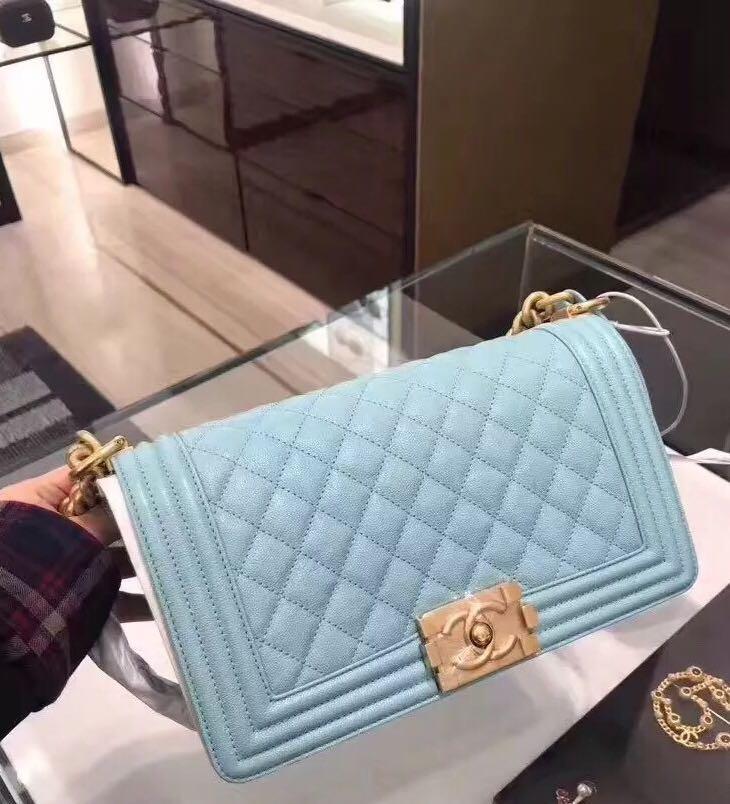 Chanel 包 牛皮