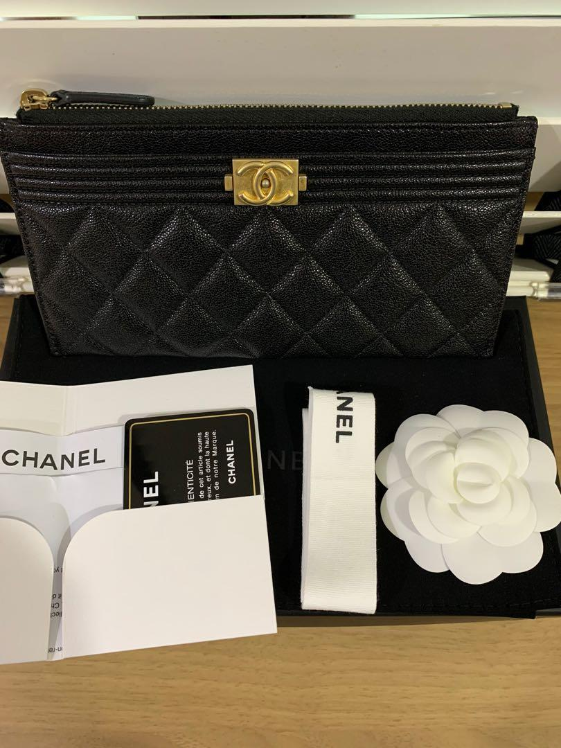 Chanel Boy Pouch Wallet