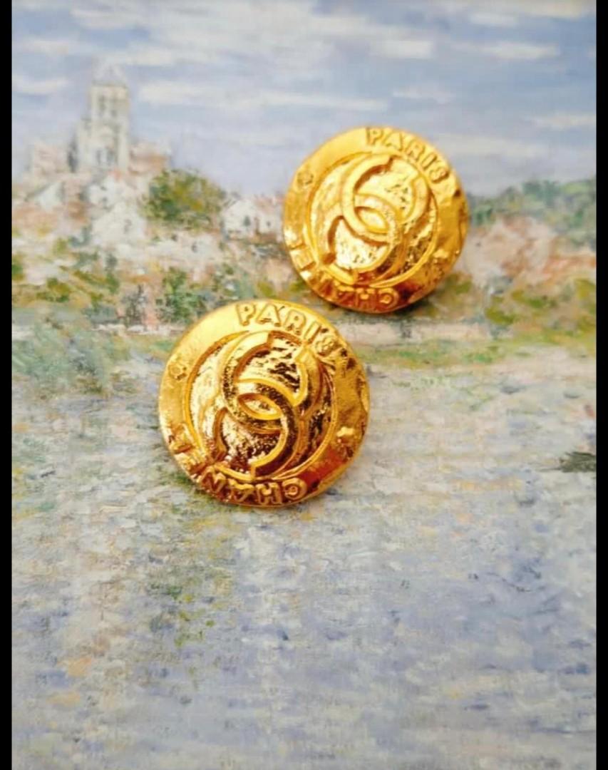 Chanel vintage 日本古董耳夾