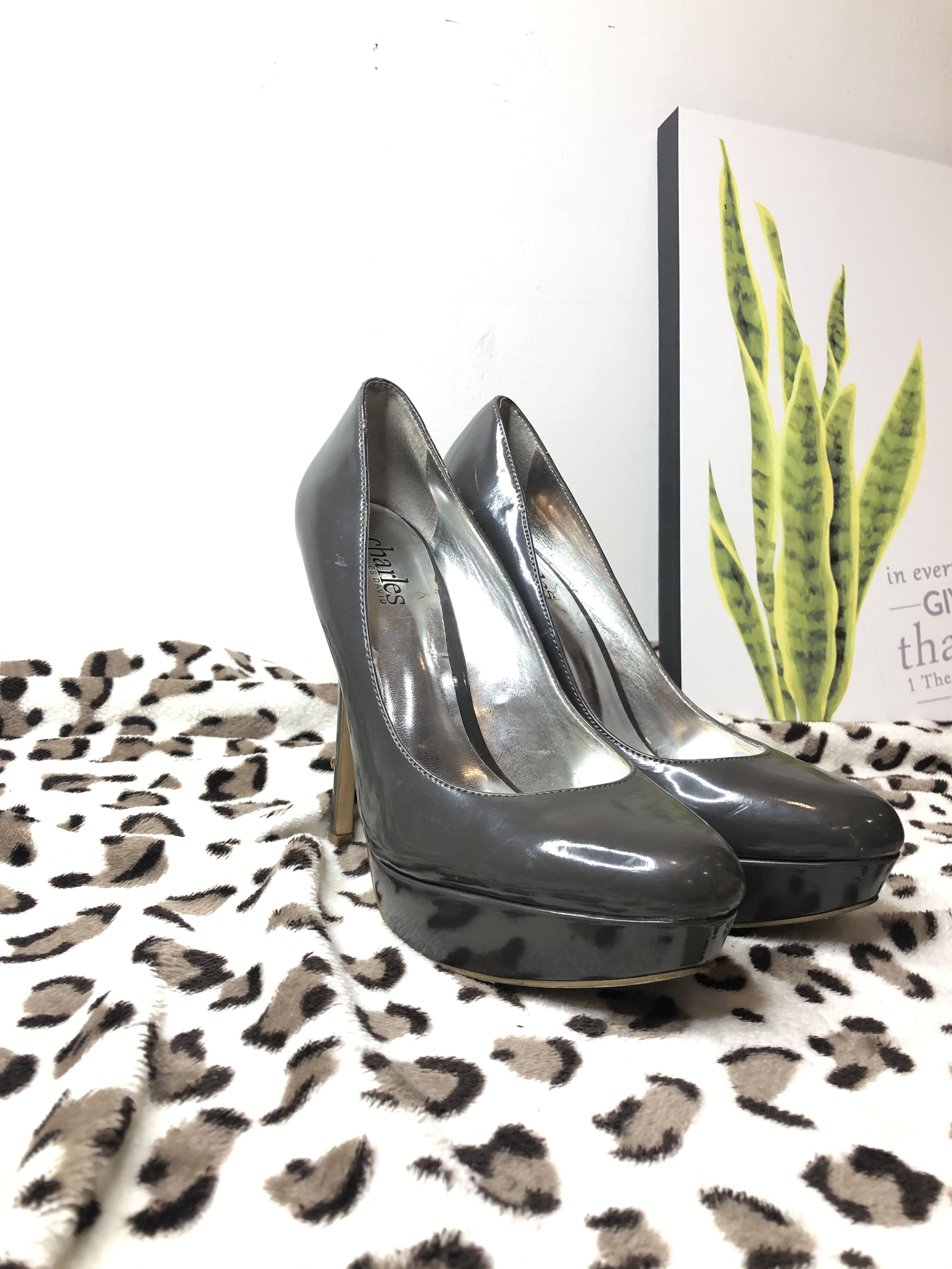 Charles by Charles David grey high heels