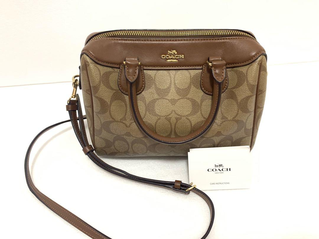 Coach Leather Bag- Small
