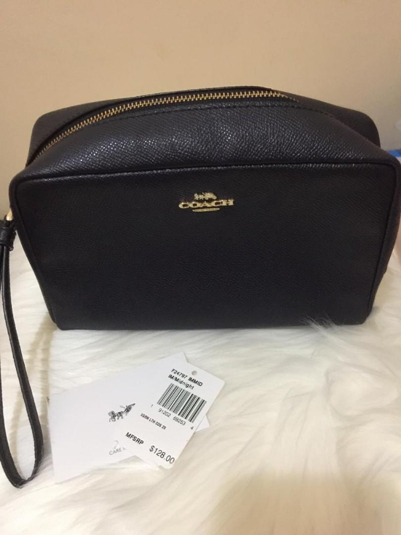 Coach Cosmetic Pouch