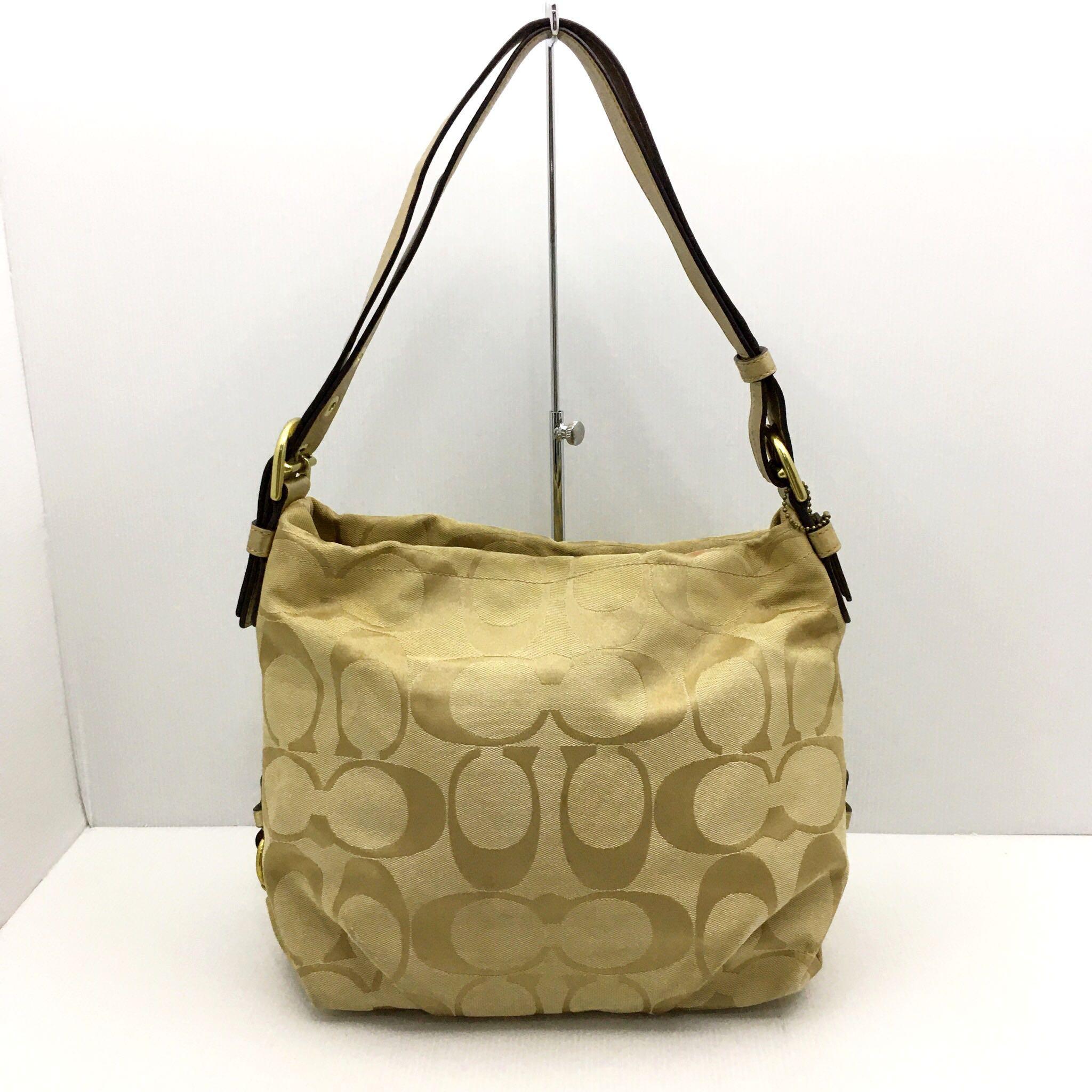 Coach F15067 Signature Duffle Handbag 207007924 >