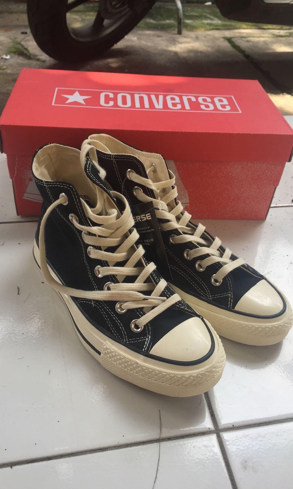 Converse 70s HI Black Egret