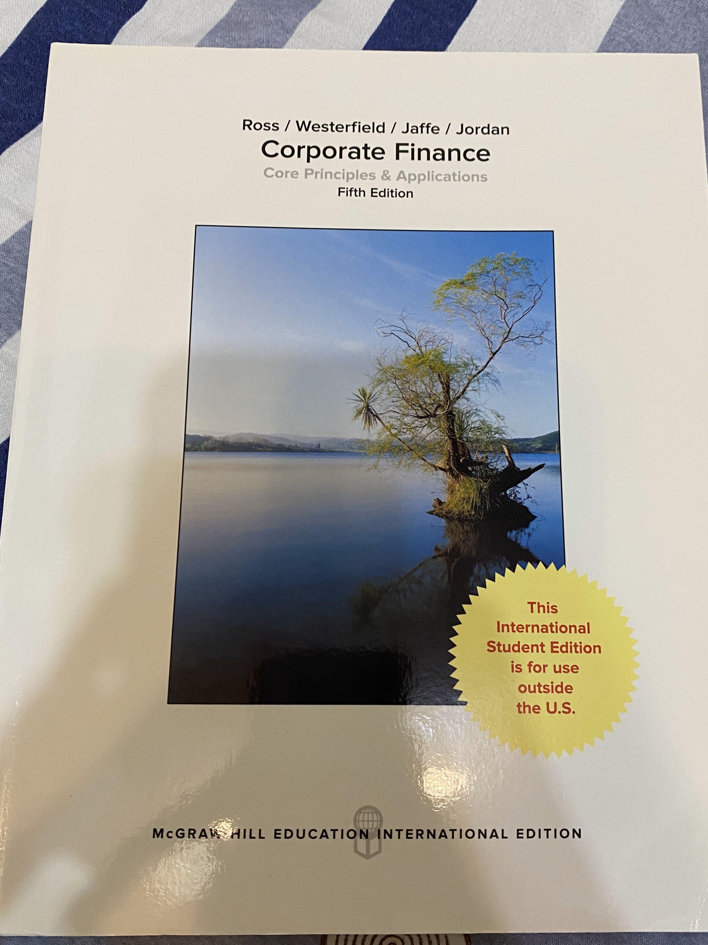 Corporate Finance 財務管理