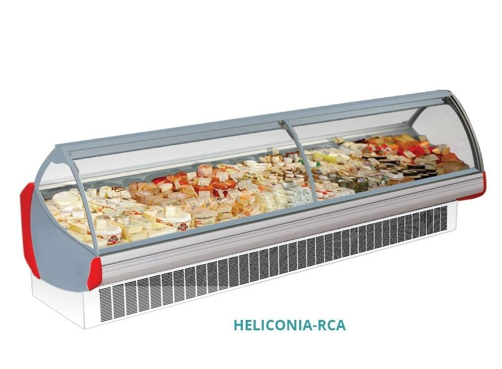 CURVE GLASS SERVE OVER COUNTER(HELICONIA RCA-187)