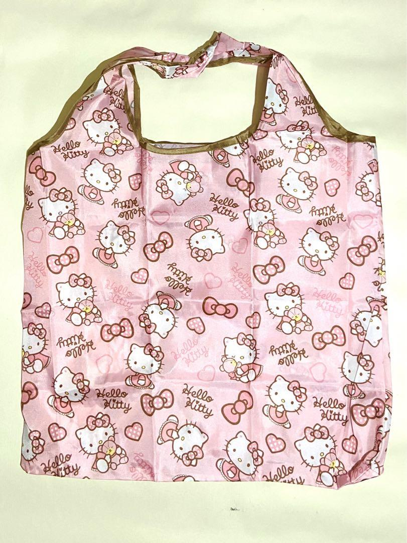 Hello Kitty Foldable Shopping Bag / Eco Bag / Reusable Shopping Bag