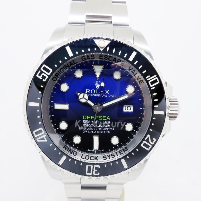Deepsea Blue 116660 (2016)