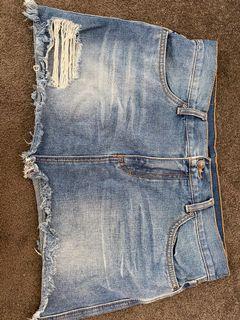 Denim skirt! Size 12