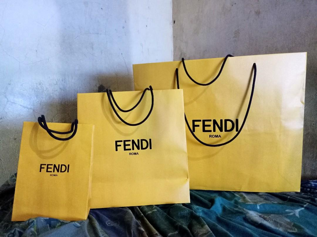 Di JUAL Shopping BAG FENDI all size