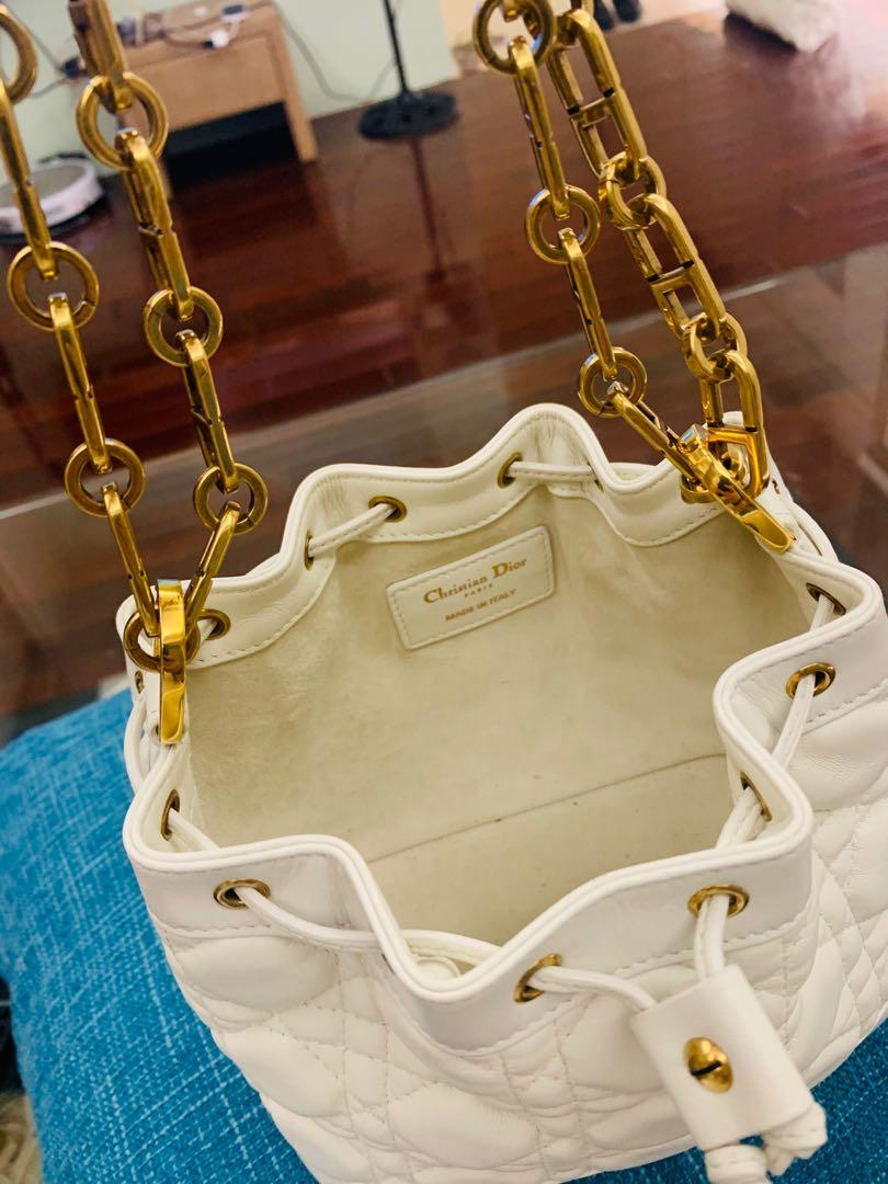Dior mini小羊皮水桶包