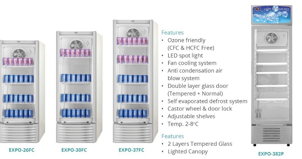 DISPLAY COOLER (EXPO-26FC)