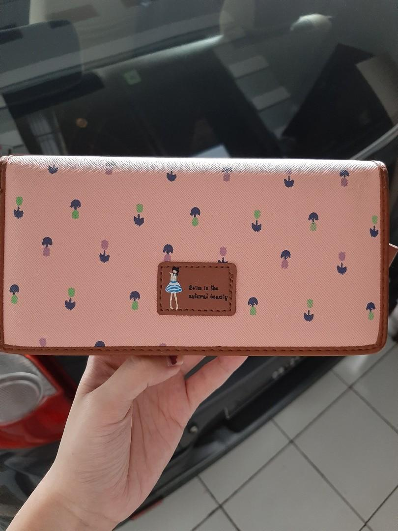 Dompet Jims Honey Soft Pink Peach