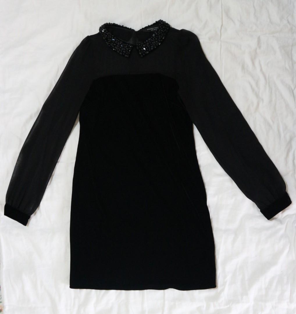Dorothy Perkins velvet dress