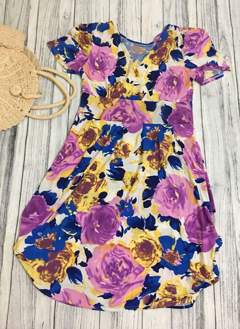 SALE//Dress Bunga