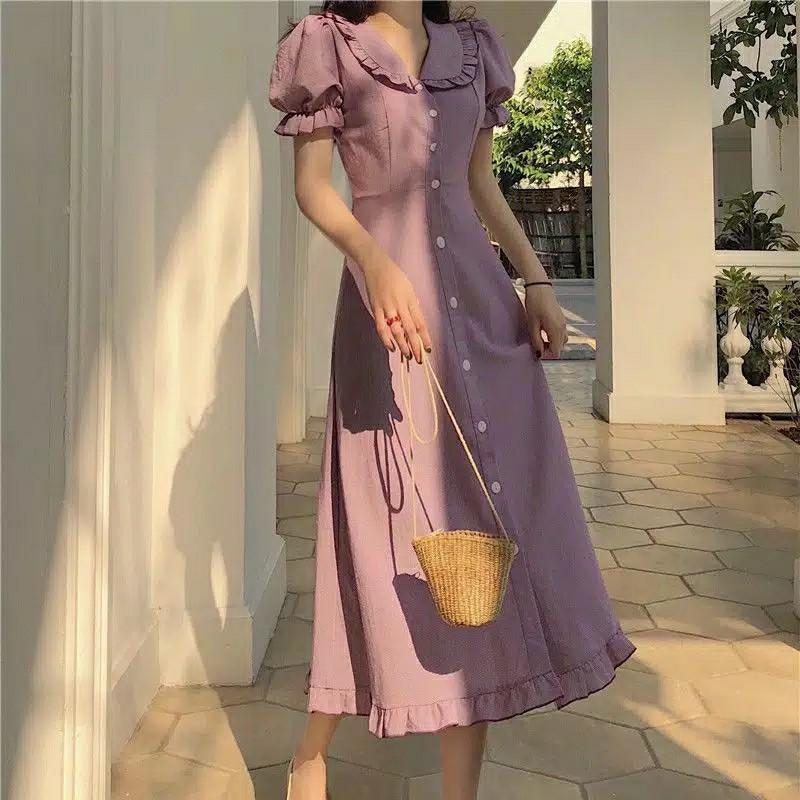 Dress midi lilac