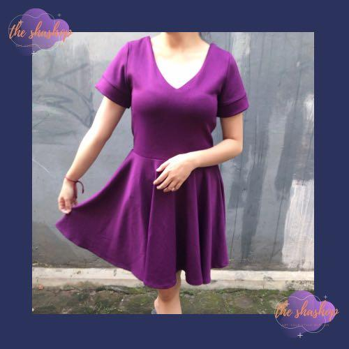 Dress Ungu Ballerina