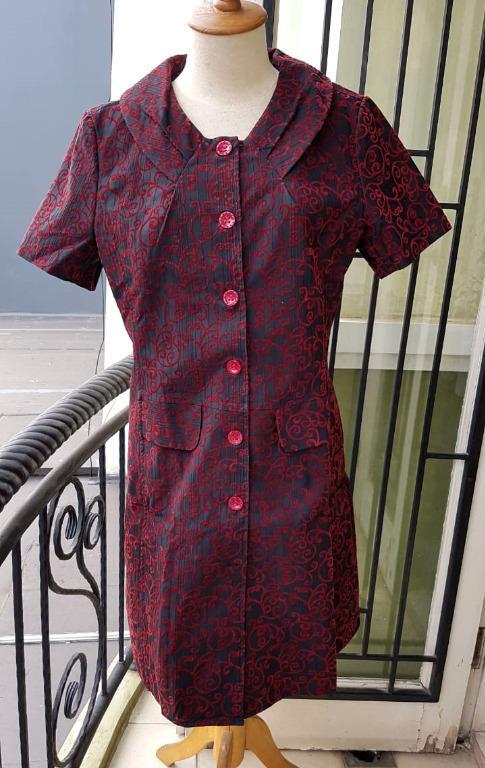 dress XL jaquard