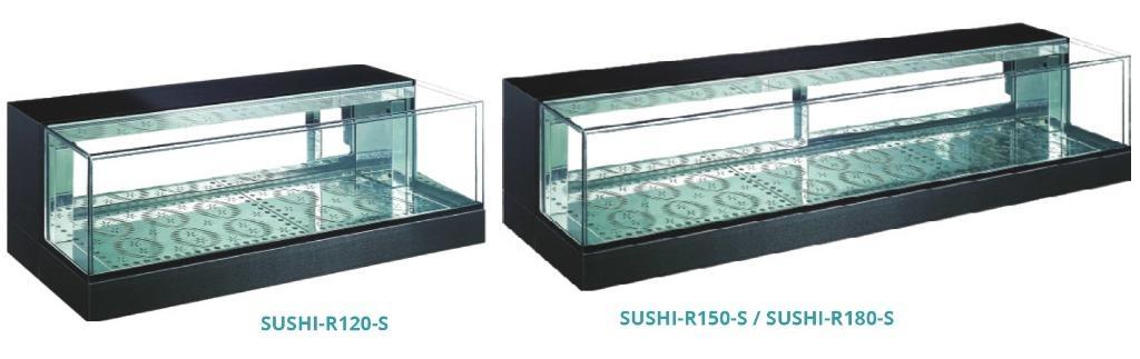 DROP-IN SUSHI SHOWCASE(SUHI-R120-S)