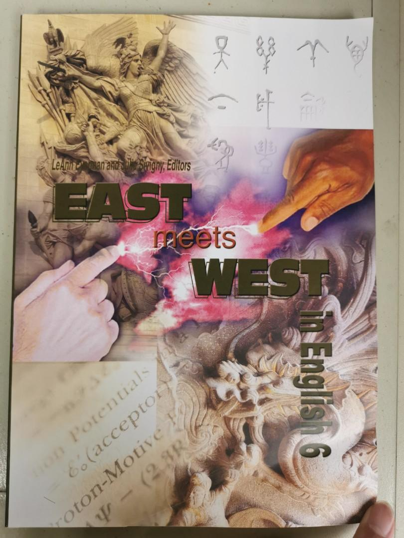 EAST meets WEST in English6 銘傳三下英文用書