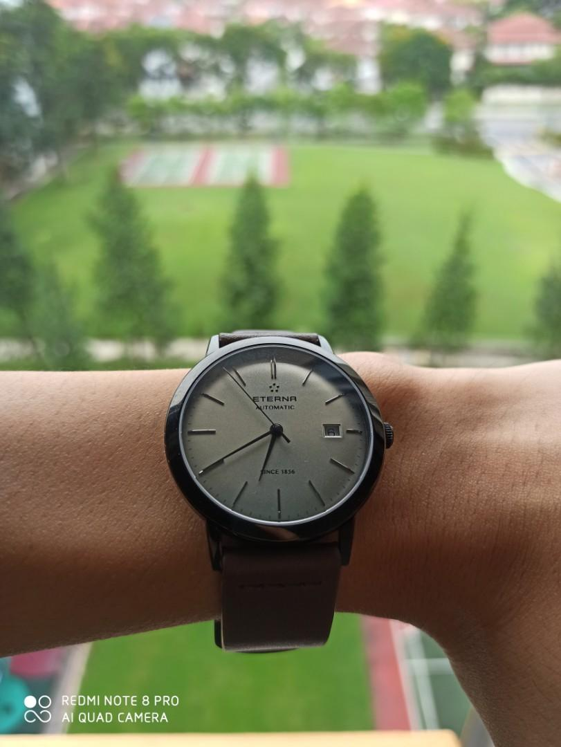 Eterna Eternity automatic watch