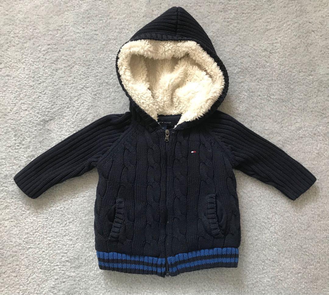 EUC Tommy Hilfiger baby sweater / jacket (12m)