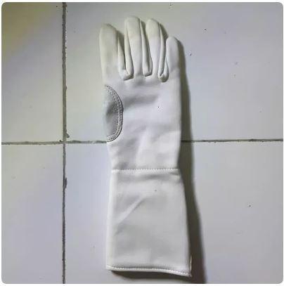Fencing Gloves BLUE GAUNTLET Size S - Sarung Tangan Anggar