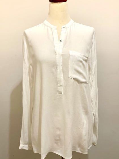 Forever21 White Blouse / Baju atasan putih