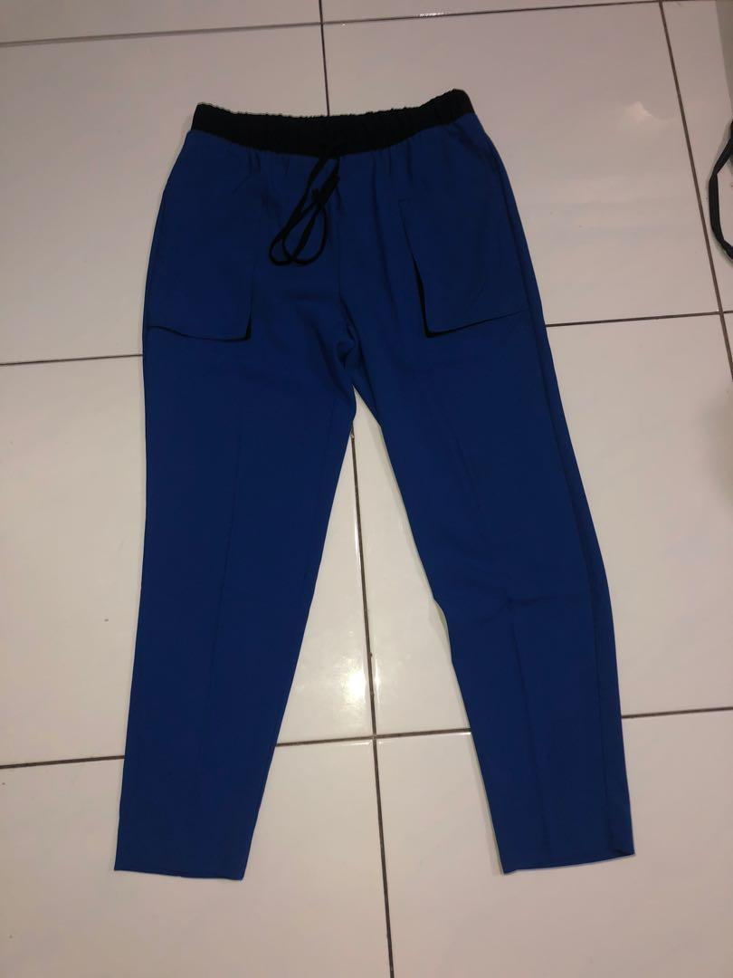Forever 21 Blue Cropped Pants
