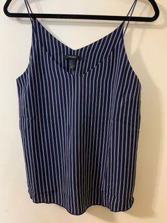 Forever 21 stripes blouse (medium)