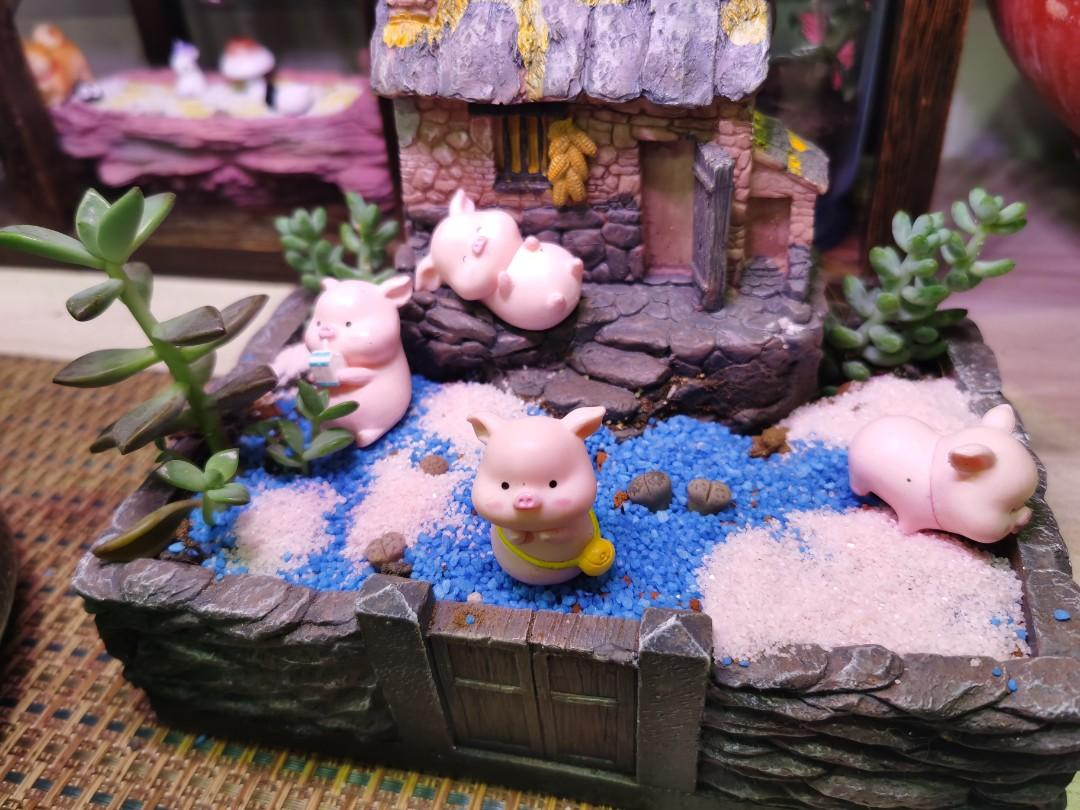 Four Little Pigs | Happy Family