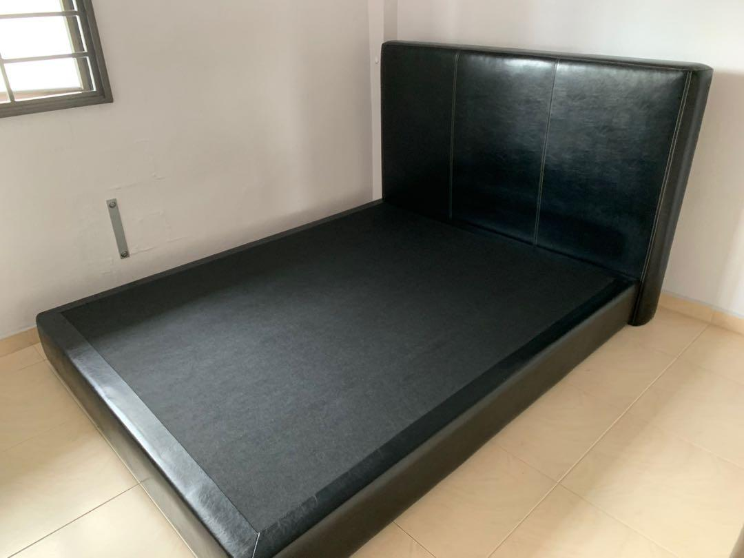 Free Queen Size Bed Frame 200cm Length X 160cm Width Furniture Beds Mattresses On Carousell