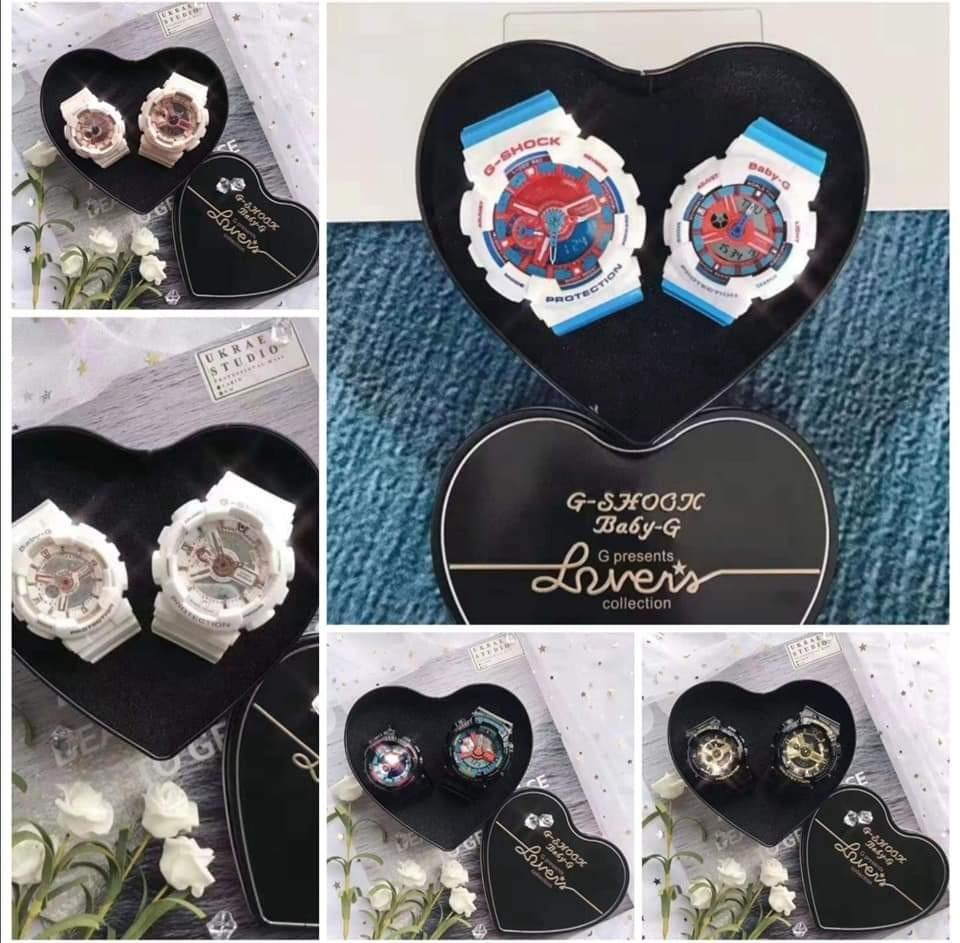 G Shock + Baby G Couple set
