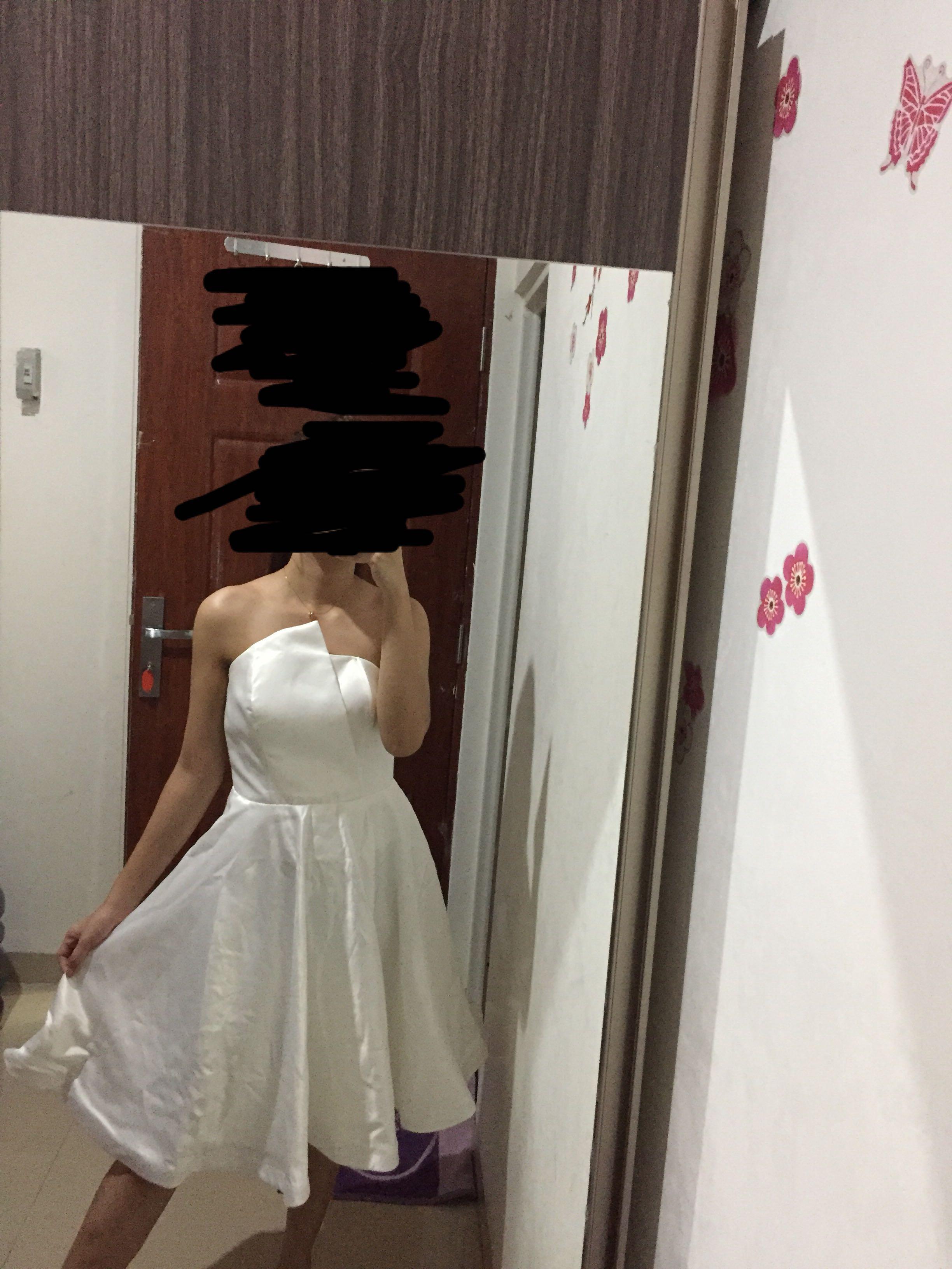 Gaun putih