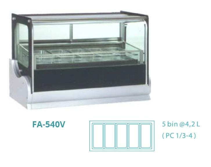 GELATO SHOWCASE(fan cooling) FA-540V