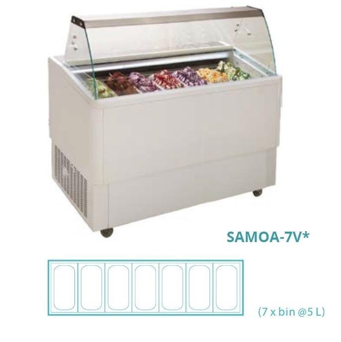 GELATO SHOWCASE(fan cooling) SAMOA-7V*