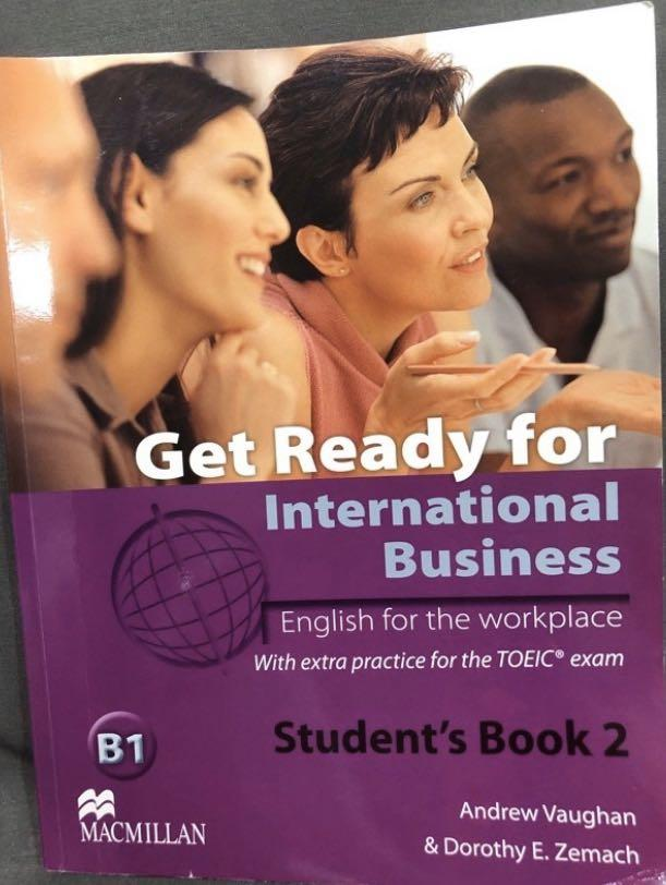 Get Ready for International Business Student's Book2 英文