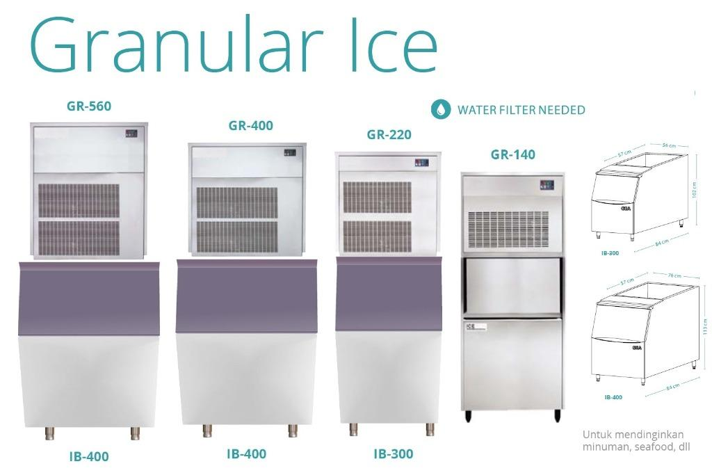 GRANULAR ICE (GR-400)