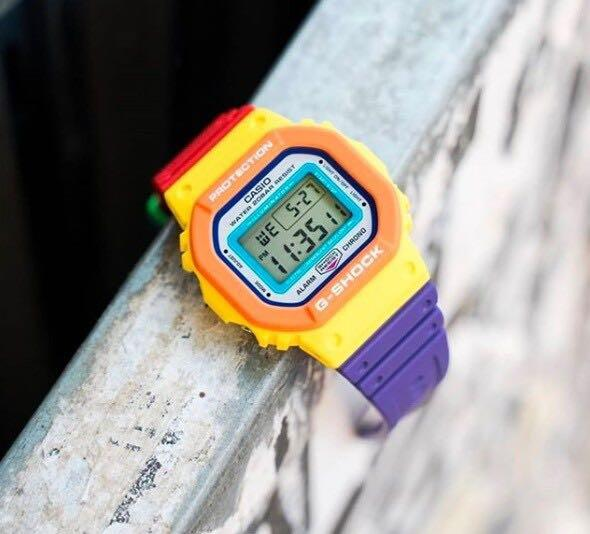 G-Shock Psychedelic Multi Colours (Authentic) DW-5619DN-9DR