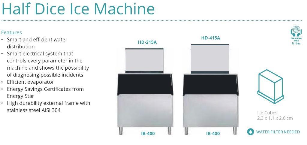 HALF DICE ICE MACHINE(HD-415A)