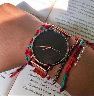 Handmade bracelet duo stack