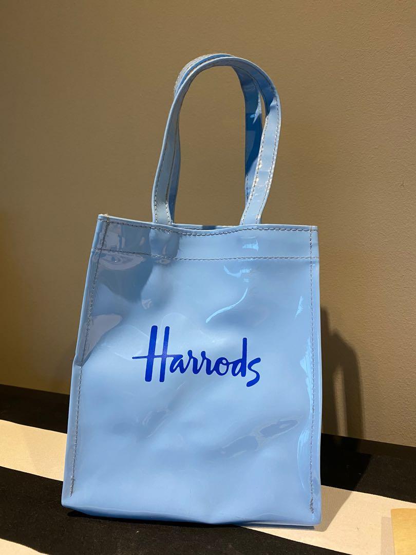 Harrods small patent bag