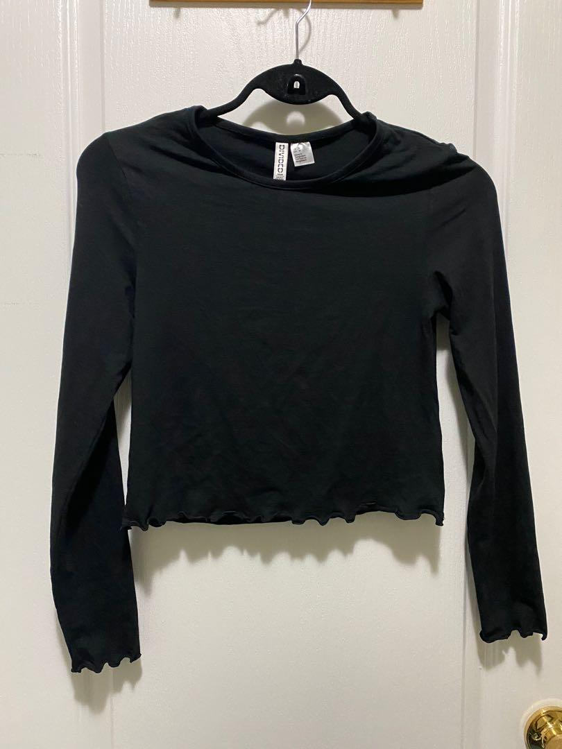 H&M cropped long sleeve (M)